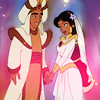 Aladdin & Jasmine - Wedding ~ ♥ - disney-princess Icon