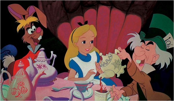 Alice, Mad Hatter, and The March Hare