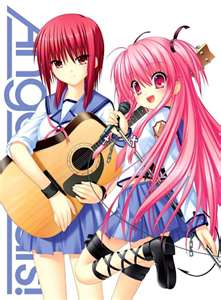 Энджел Beats! Noda, Yui, Hinata, Shiina, Others, and Groupings