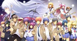 Angel Beats! Noda, Yui, Hinata, Shiina, Others, and Groupings