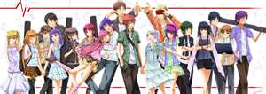 Angel Beats! Noda, Yui, Hinata, Shiina, Others, and Groupings