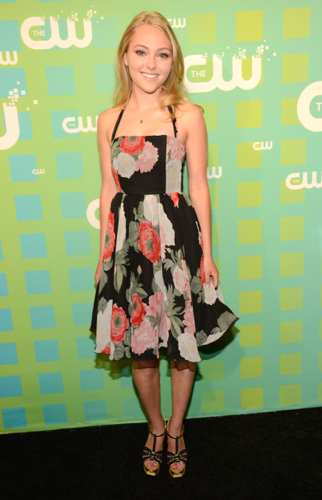 AnnaSophia - The CW's Network's 2012 Upfront - May 17th, 2012