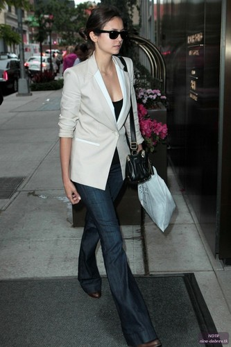 Arriving @ Her Hotel (May 14) - nina-dobrev Photo