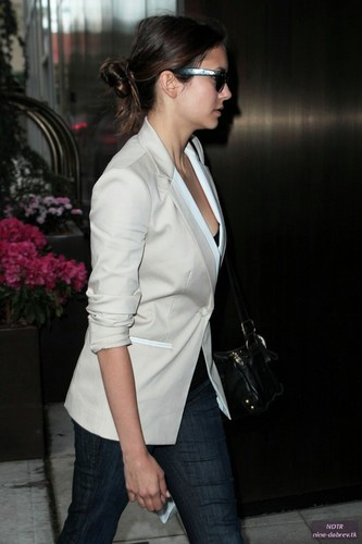 Arriving @ Her Hotel (May 14)
