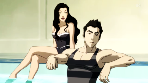 Avatar, La Légende de Korra fond d'écran possibly with a leotard, a swimsuit, and attractiveness titled Asami