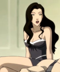 Avatar: The Legend of Korra wallpaper possibly with a bustier and attractiveness entitled Asami