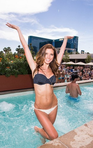 Audrina @ the MGM Grand Pool Hotel