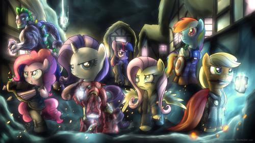 Avenger Ponies