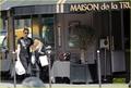 Avril Lavigne & Chad Kroeger: Parisian Pair - chad-kroeger photo