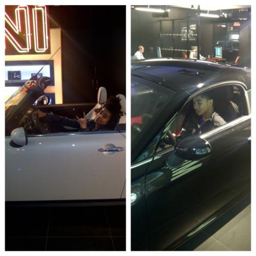 Awsome car Princeton babe lol!!!!!! :D ;)
