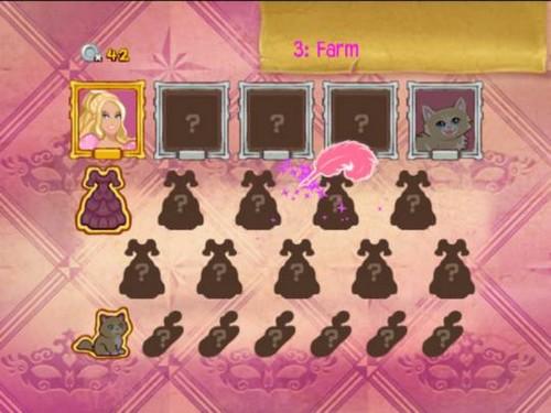 বার্বি 3Ms video game screenshot