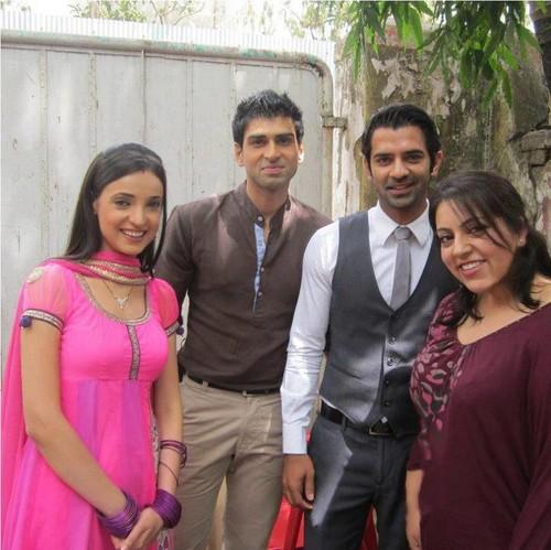 Barun. sanaya and Akshay
