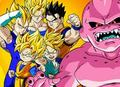 Battle Against Buu - dragon-ball-z fan art