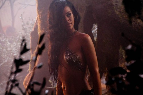 Rihanna wallpaper entitled Behind The Scenes Of Where Have You Been Music Video