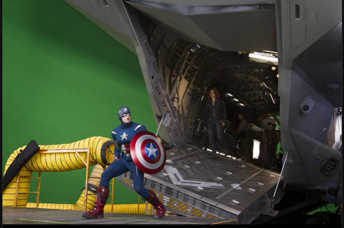 Behind the Scene - the-avengers Photo