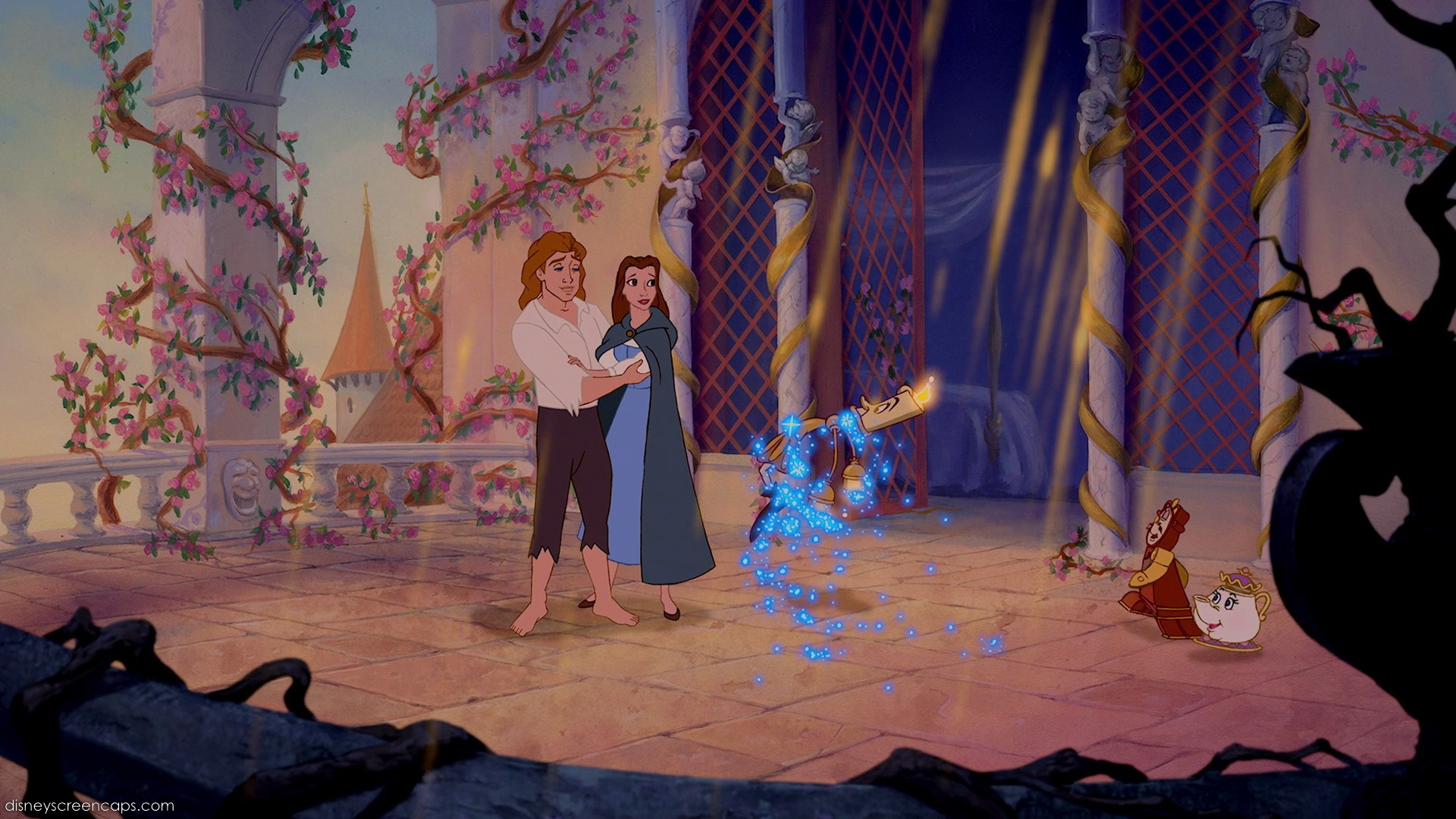 belle beauty and the beast ending relationship
