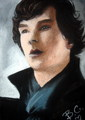 Benedict Cumberbatch (Sherlock - BBC One) - benedict-cumberbatch fan art