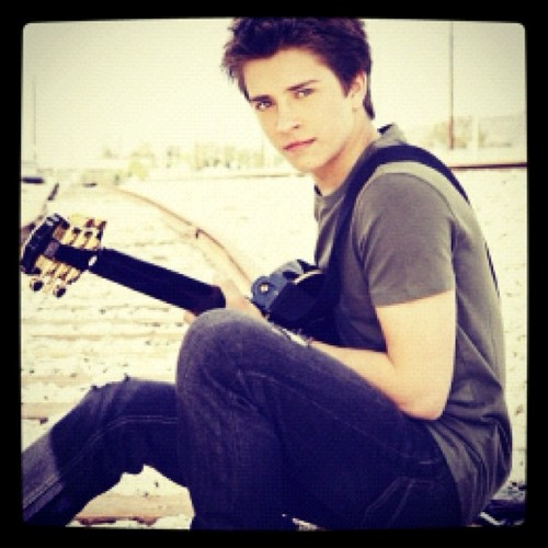 Billy with his gitar