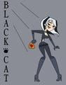 Black Cat- catch me if you can - total-drama-island fan art