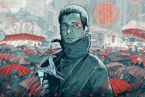 Blade Runner hình nền probably with anime titled Blade Runner