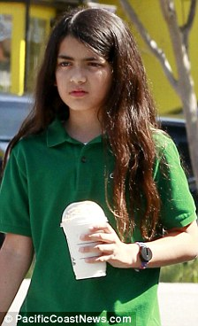 Prince Michael Jackson wallpaper possibly with a leisure wear and a portrait entitled Blanket Jackson at Starbucks