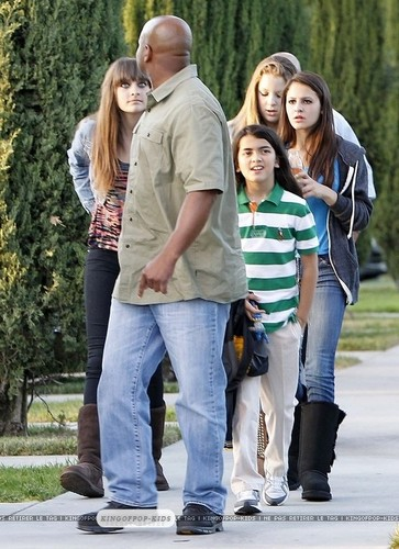 Blanket Jackson in Calabasas - paris-jackson Photo