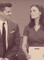 Booth and Brennan <3 - booth-and-bones fan art