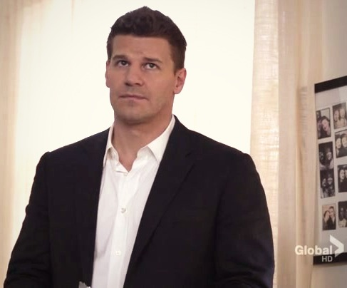 Seeley Booth wallpaper with a business suit entitled Booth