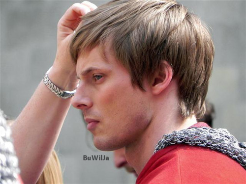 Bradley James BTS - Beautiful Shot