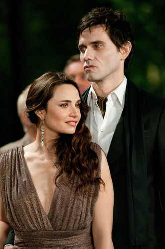 Twilight Series wallpaper probably with a business suit, a dress suit, and a bridesmaid titled Breaking Dawn - Assorted Photos