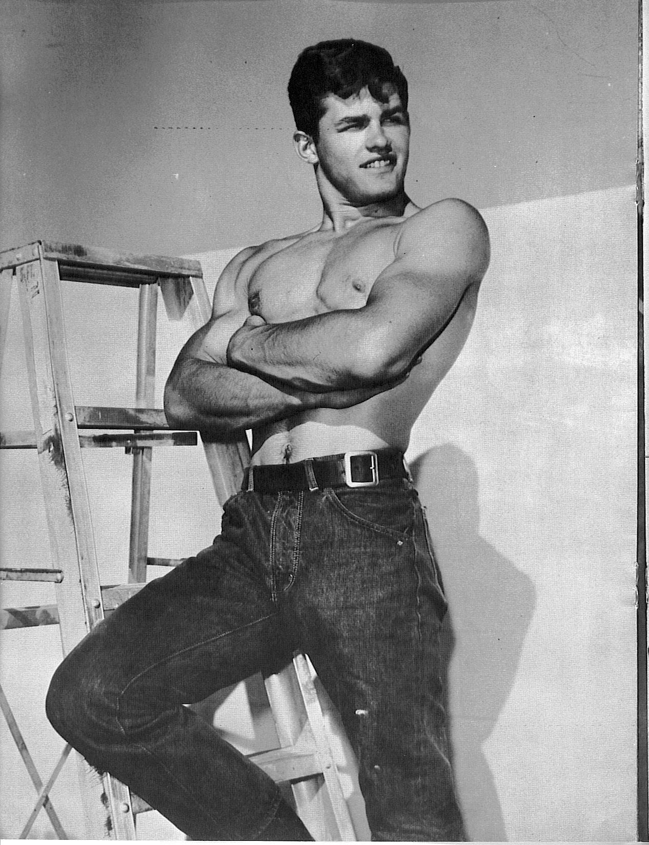 Vintage Beefcake Brian idol