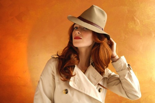 Bridget Regan wallpaper containing a fedora, a snap brim hat, and a boater titled Bridget Regan ღ