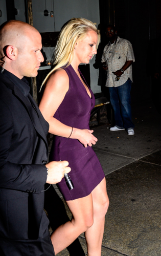 Britney - Leaving ABC cocina restaurant in New York - May 14, 2012