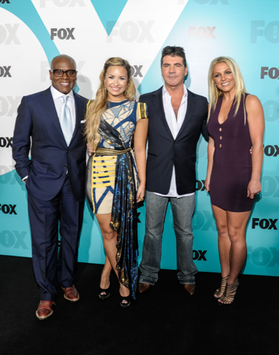 Britney - X Factor rubah, fox Upfront afterparty at Wollman Rink in Central Park - May 14, 2012