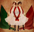 Brotherly Love<3~ - hetalia-romano photo