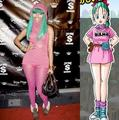 Bulma and Nicki Minaj - bulma-briefs photo