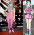 Bulma and Nicki Minaj