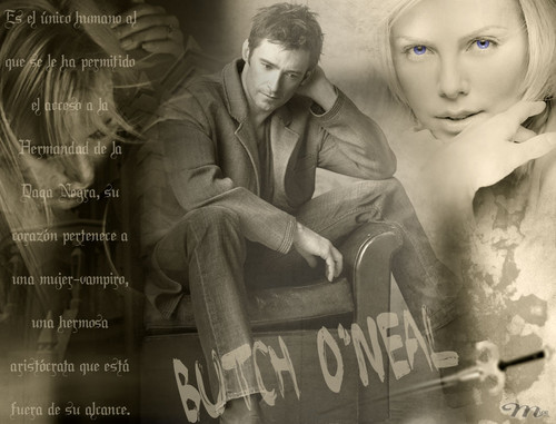 The Black Dagger Brotherhood پیپر وال called Butch O'Neal