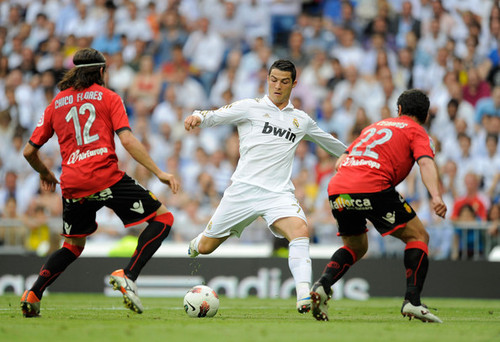 C. Ronaldo (Real Madrid - Mallorca) - cristiano-ronaldo Photo