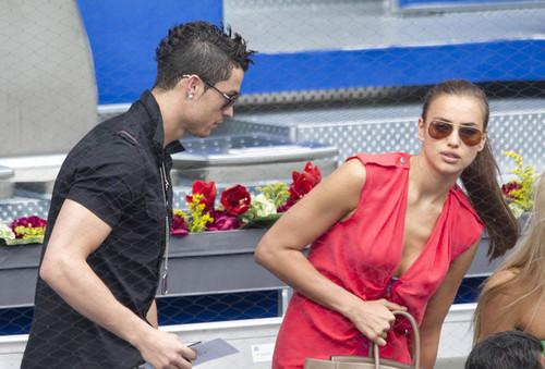 C. Ronaldo at Mutua Madrilena Open