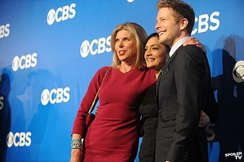 CBS Upfronts 2012 - Various Cast Photos