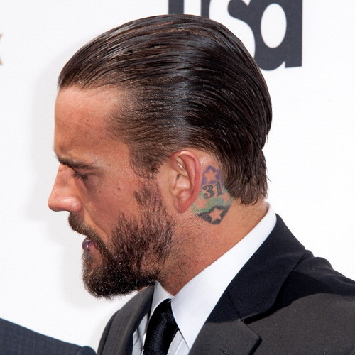 CM Punk at USA Network Upfronts