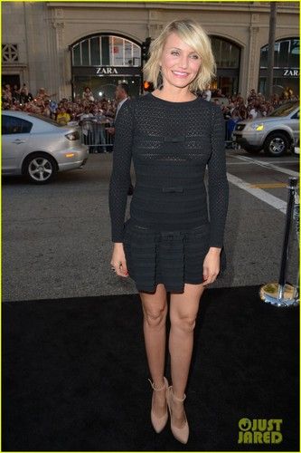 Cameron Diaz: 'What to Expect When You're Expecting' Premiere!