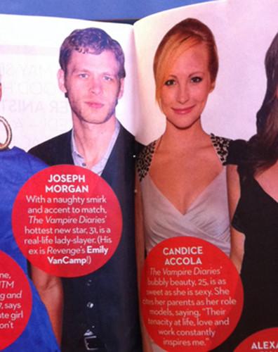 Candice in OK! magazine.