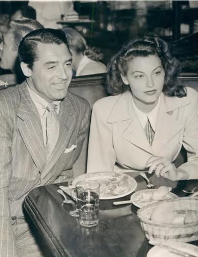 Cary Grant & Ava Gardner