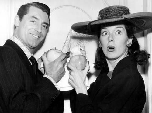 Cary Grant & Rosalind Russell