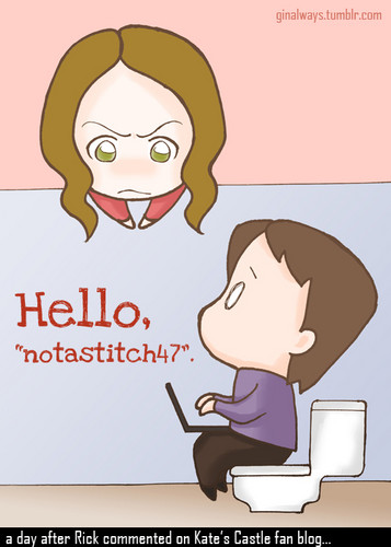 Caskett Toilet [Still Cute!] <333