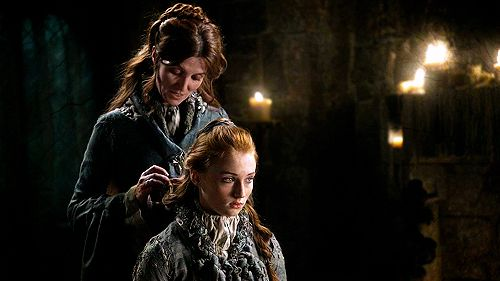 Catelyn and Sansa