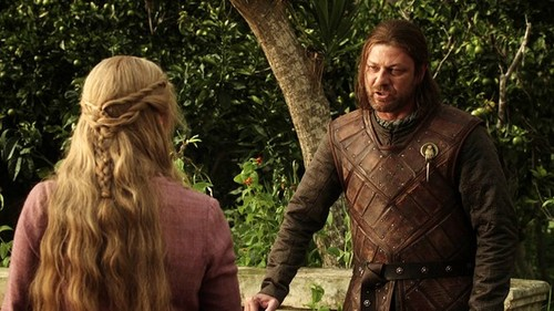 Cersei and Eddard