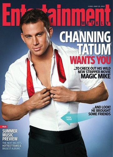 Channing Tatum on the cover of EW 2012 - channing-tatum Photo